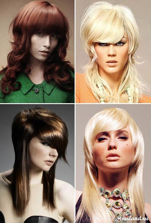 Женские стрижки на длинные волосы фото