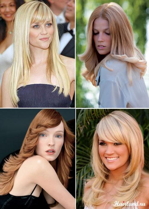 Женские стрижки на длинные волосы лесенка