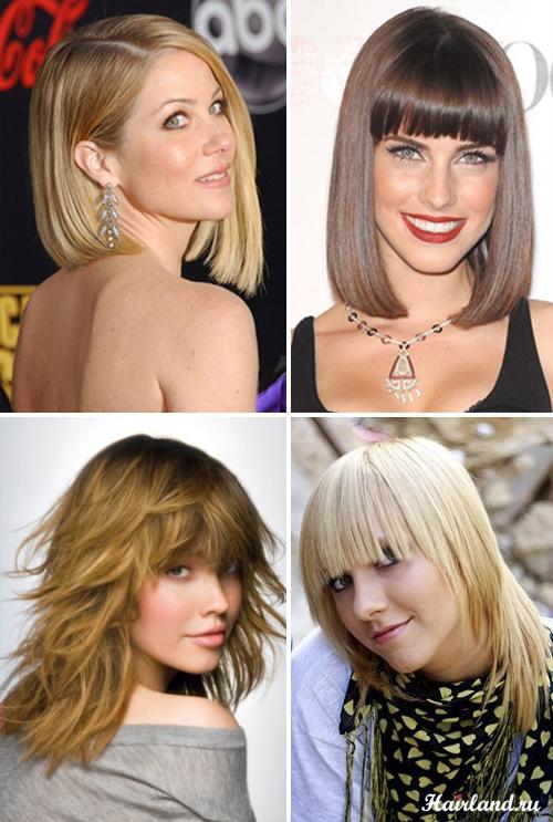 Модные стрижки 2012 фото на средние волосы
