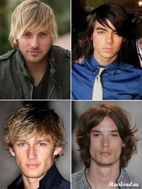Мужские стрижки на средние волосы фото