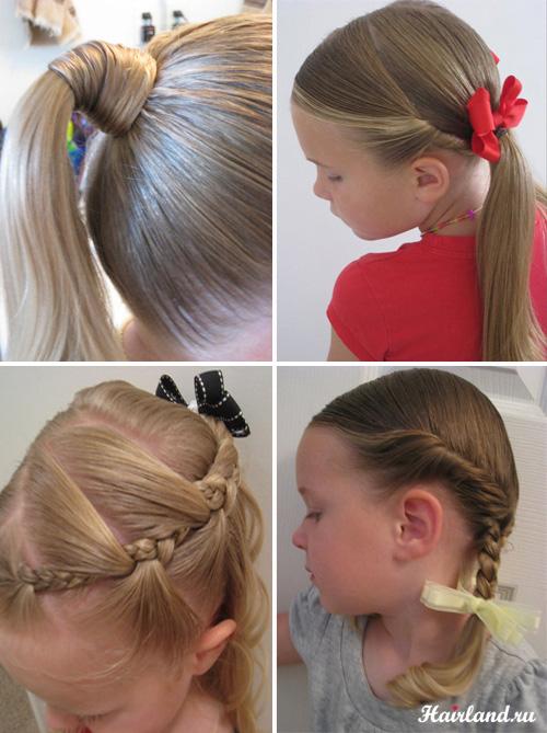 Красивые причёски на каждый день в школу для подростков своими руками