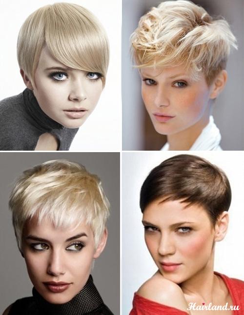 Прически для коротких волос на каждый день фото