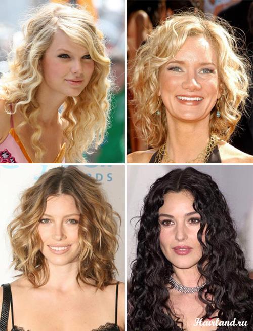 Стрижки для кудрявых волос фото