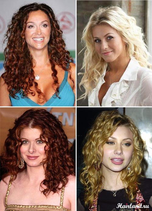 Стрижки для длинных кудрявых волос фото