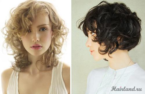 Технология долговременной укладки волос, карвинг