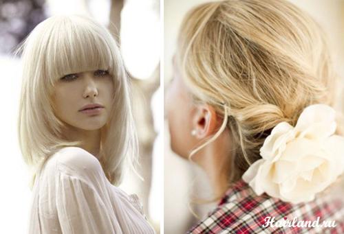 Блондинки фото прически