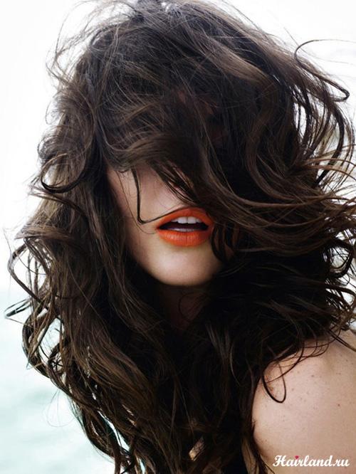 Цвет волос шоколадный фото