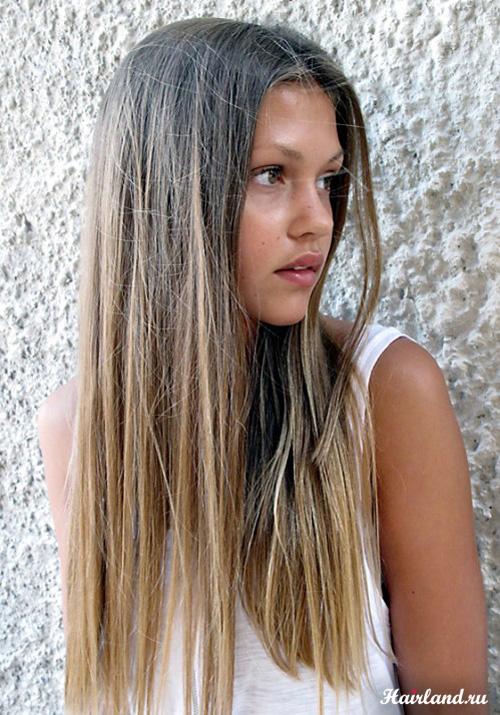 Цвет волос русый фото