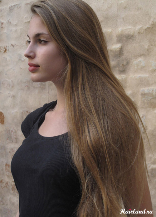 Русые волосы. Цвет волос русый фото