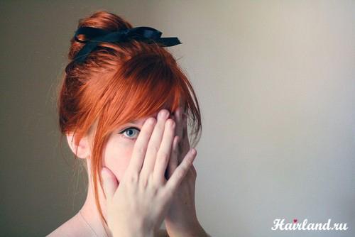 Цвет волос рыжий фото рыжие волосы