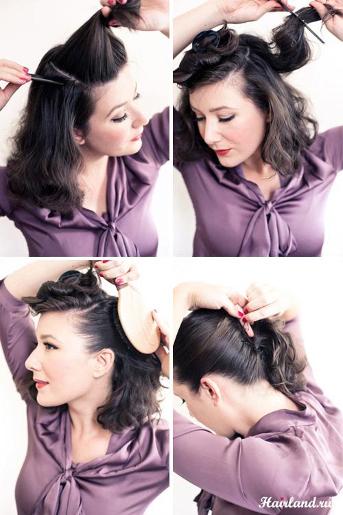 Как сделать красивую прическу на длинные волосы самой