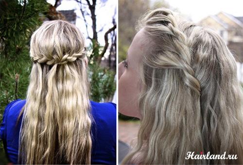 Мелирование русых волос фото