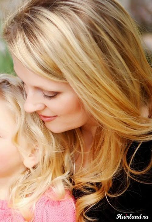 Мелирование на светлые русые волосы фото