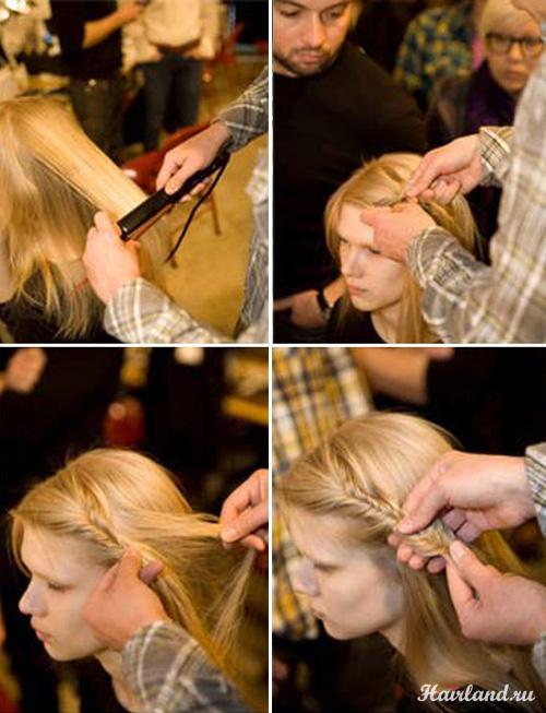 Плетение косичек обучение в картинках фото как делать