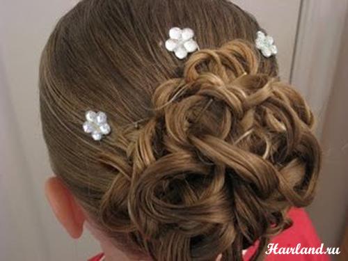 прически на свадьбу свидетельнице на длинные волосы картинки