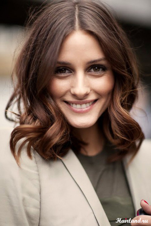 Укладка волос для средней длины фото