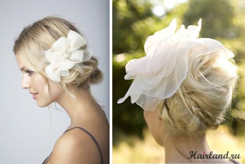 Прически для волос средней длины 2012