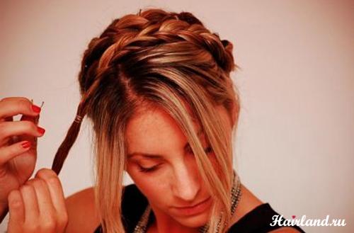 Прически на каждый день с косами фото и как делать