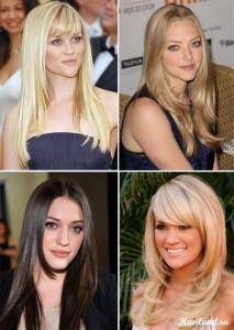 """Стрижки """"лесенка"""" на длинные волосы, фото стрижек"""