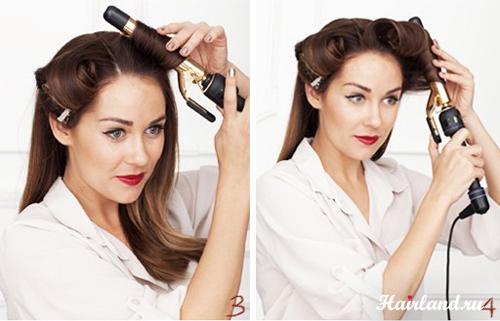 Укладка волос в домашних условиях своими руками в картинках