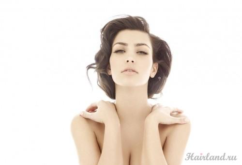 Ким Кардашян прическа фото