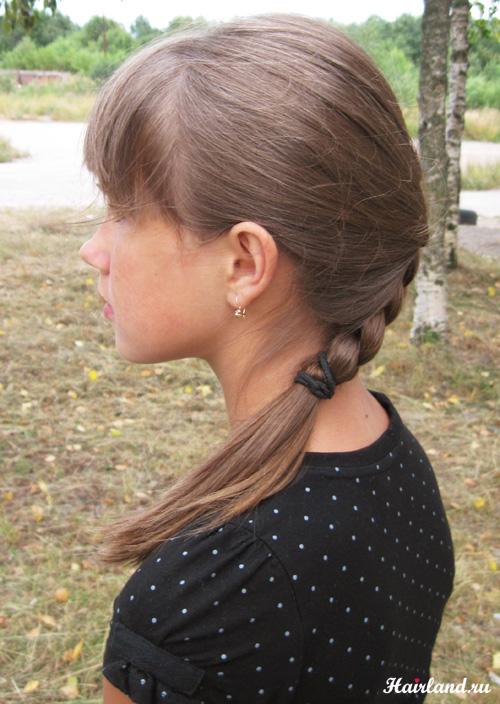 Косички плетение обучение фото