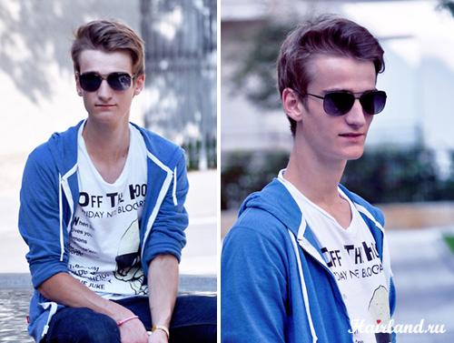 Прически мужские молодежные 2012