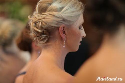 Прически на свадьбу для свидетельницы фото