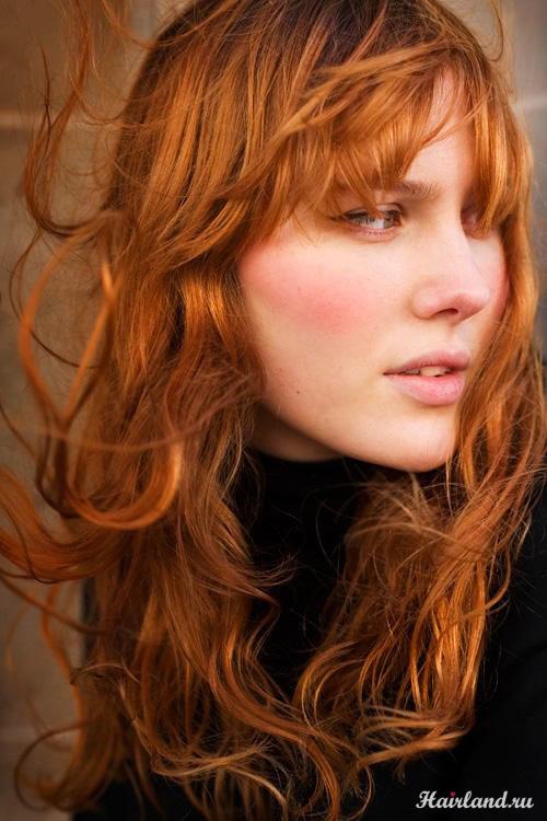 Рыжий цвет волос. Оттенки