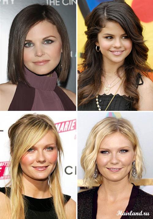 Стрижки для круглого лица и тонких волос фото