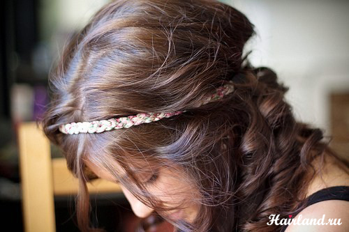 Цвет волос шатенка фото