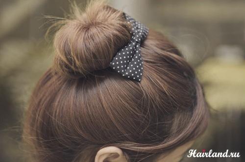 Основной цвет волос шатенки - коричневый