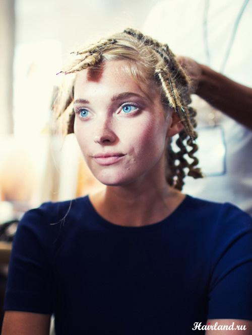 Как завить волосы на шпильки фото