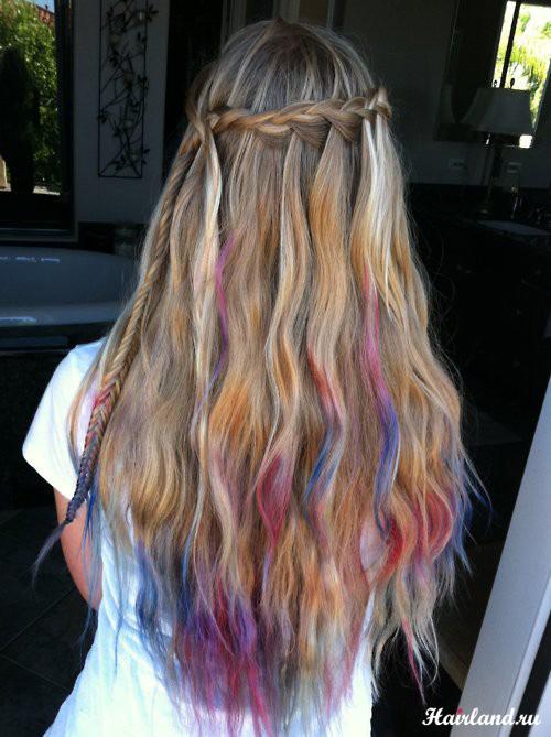 Колорирование волос фото 2012