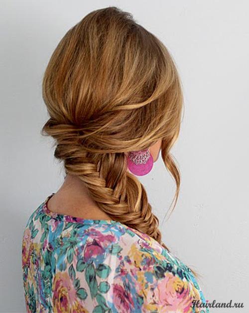 Вот собственно и весь вопрос:) Хочу научиться плести вот такую косу, но в инете не могу найти схему...