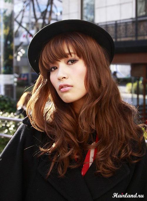 Светло-каштановый цвет волос фото