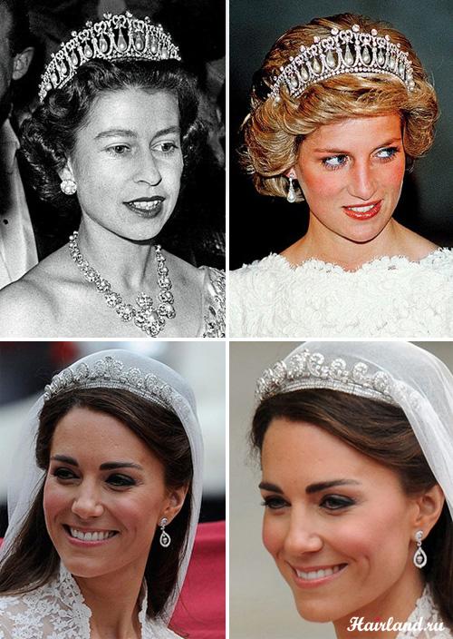 Королевские свадебные прически с диадемой фото миддлтон