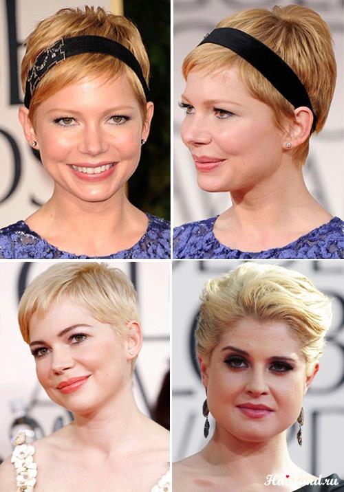 Прически на выпускной 2012 на короткие волосы