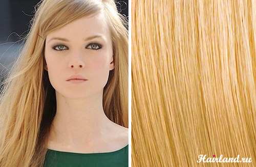 Волосы пшеничным цветам 34