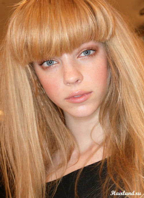 Блондинки рыжие цвета волос