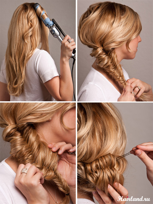 Повседневные прически для длинных волос своими руками