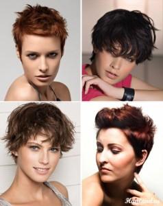 Прически на короткие волосы фото. Укладки коротких волос