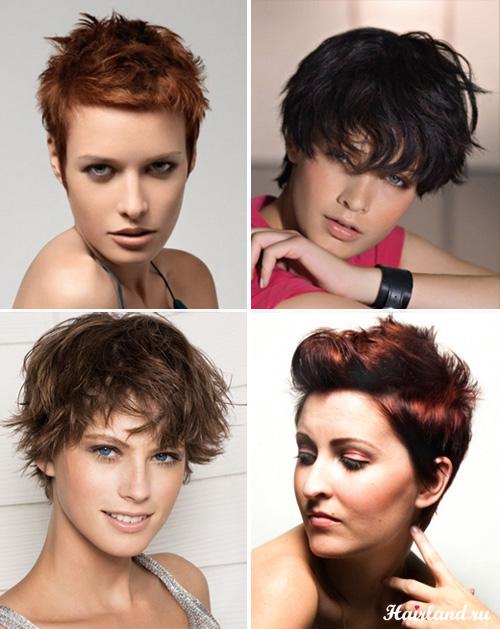 Прически для коротких волос фото